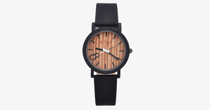 Men's Wooden Quartz Watch - Stately, Classic and Easy Going!