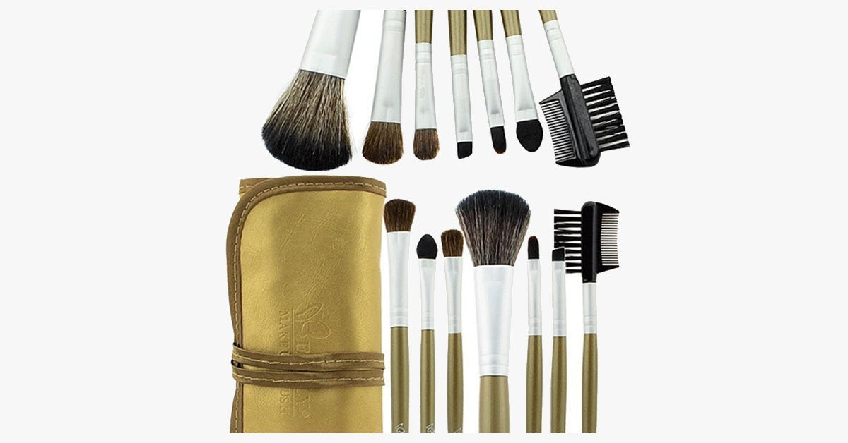 7 Piece Glamour Golden Set - FREE SHIP DEALS