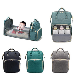 2 in 1 Multi-functional Travel Mommy Bag