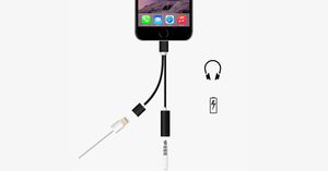 2 in 1 Earphone & Lightning Adapter for iPhone - FREE SHIP DEALS