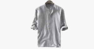Casual Buttons Henley T Shirt