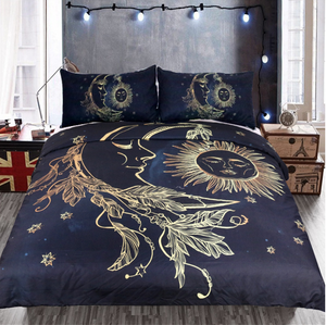 Bedding With Duvet Cover Sheet and Pillow Case Cover