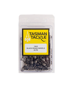 Tasman Tackle Barrel Swivels 25-55 Pack