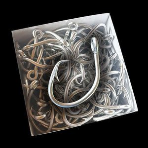 Tasman Tackle Stainless Steel Tuna Circle Hooks 100 Pieces