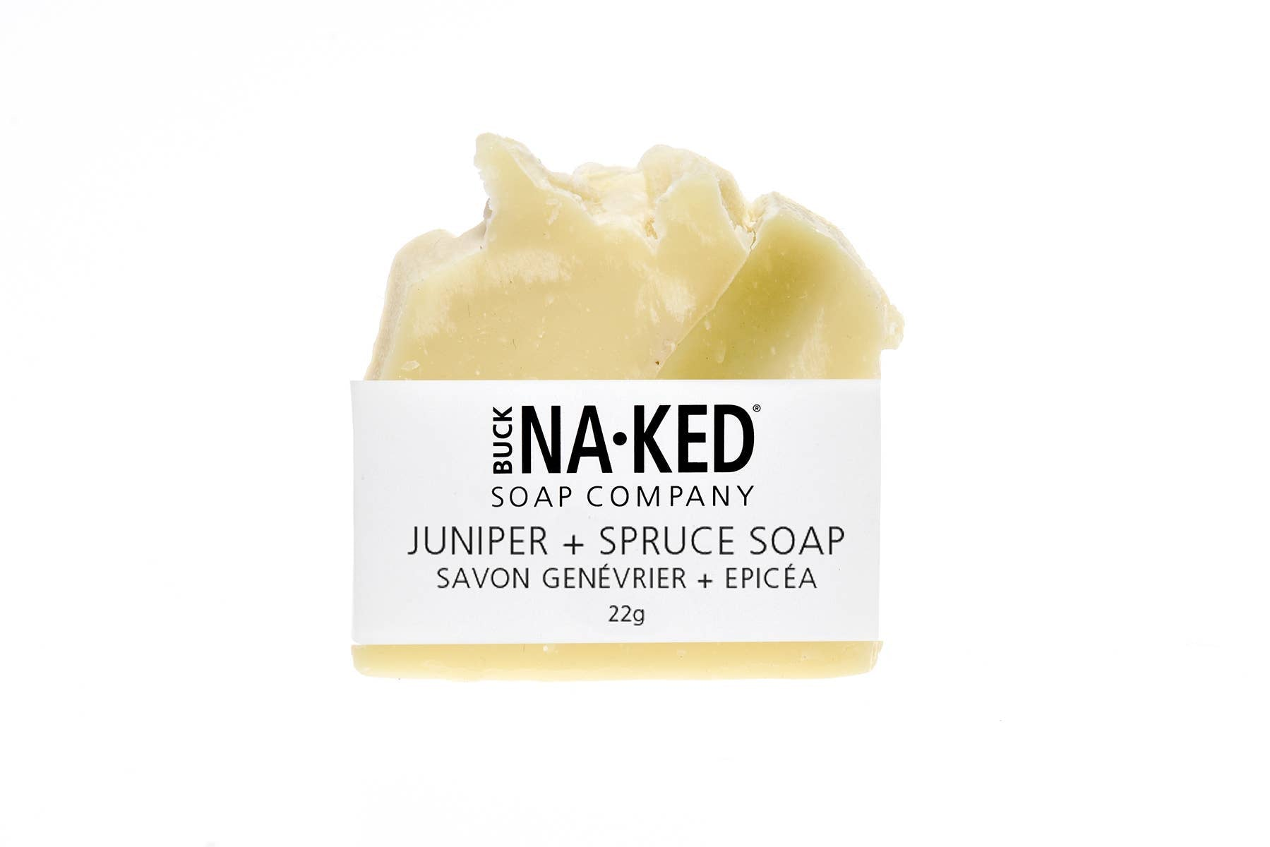 Buck Naked Soap Company - Juniper + Spruce Soap - HOLIDAY