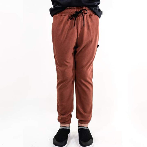 Youth Drawstring Joggers Brick