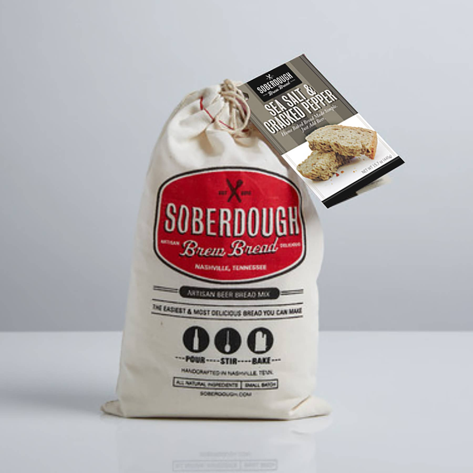 Soberdough - Sea Salt and Cracked Pepper - Case