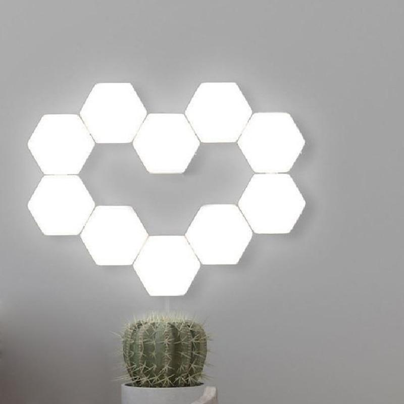 LED Hexagon Wall Lights, hexagon wall lamps, wall lights, led wall lights