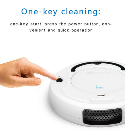 Buster Duster- 3-In-1 Robot Vacuum