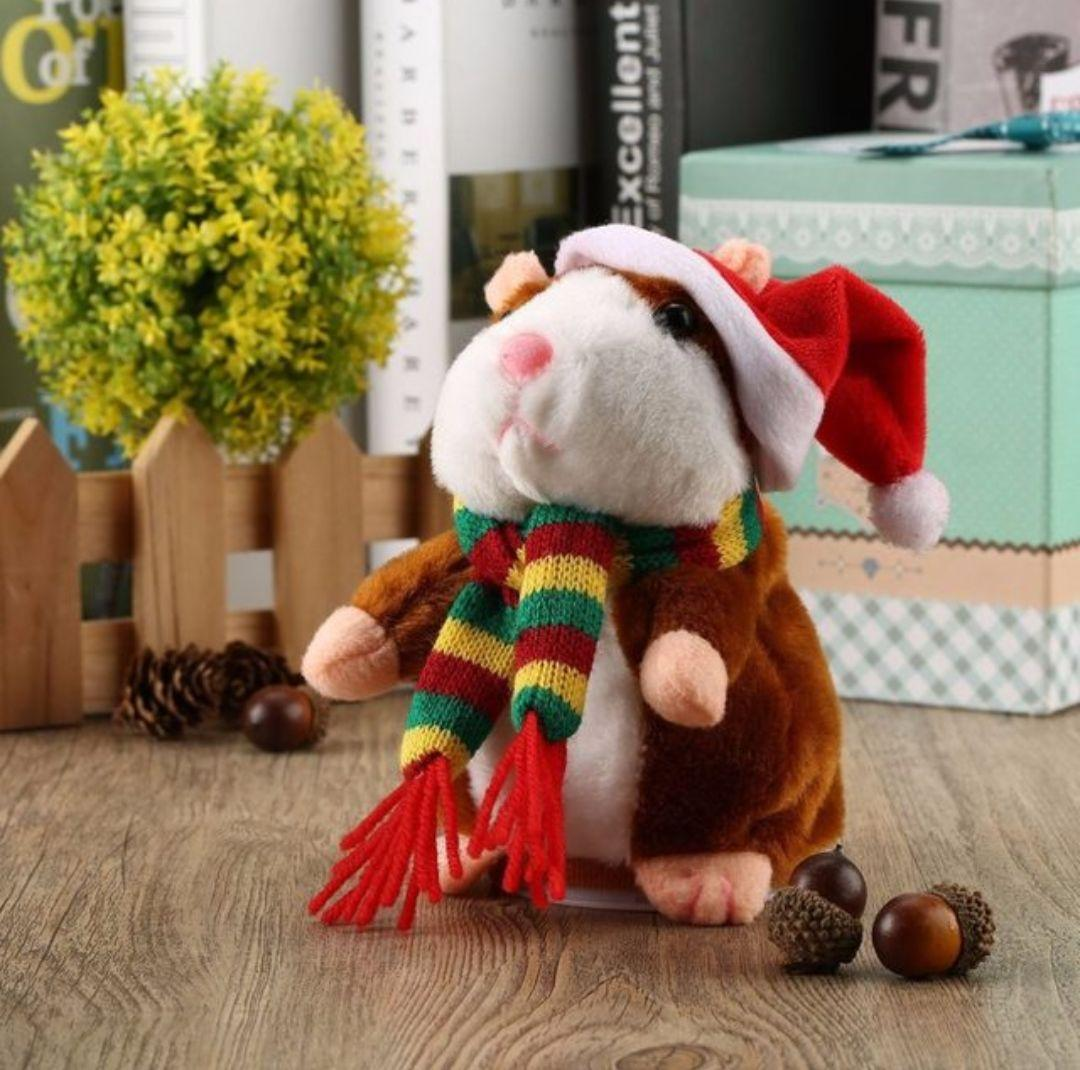 Walking Talking Hamster Plush Toy