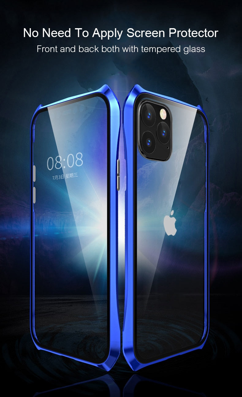 Iphone 11 Double Sided Glass Magnetic Case