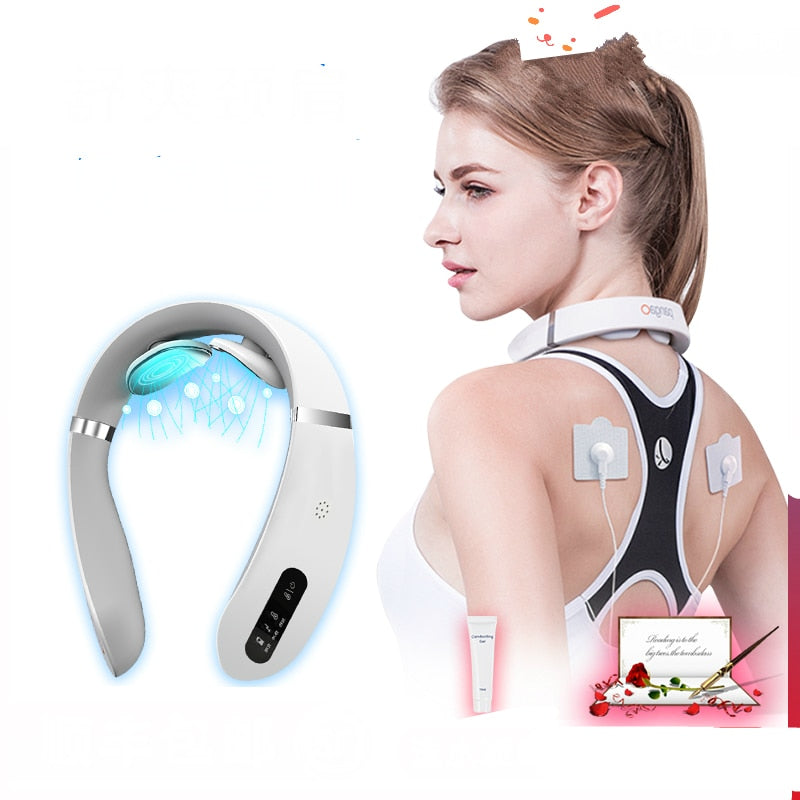 Electric Neck Massager 3D 4 Heads