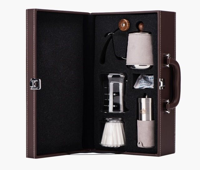 Coffee Gift Pro ™ - Coffee grinder drop kettle
