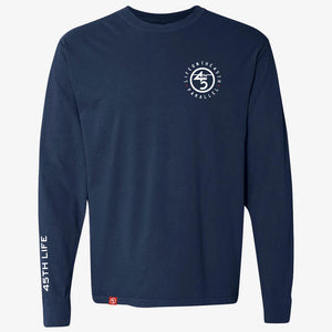 LONG SLEEVE TAGLINE TEE - 45TH PARALLEL