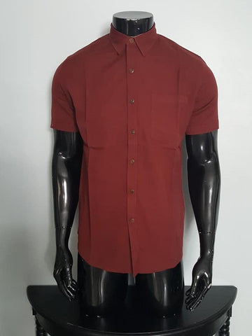 Half sleeve Bamboo and Cotton Shirt for Men
