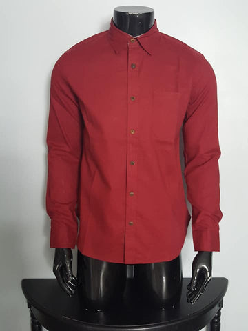 Hemp and Cotton Long sleeve Shirt for Men