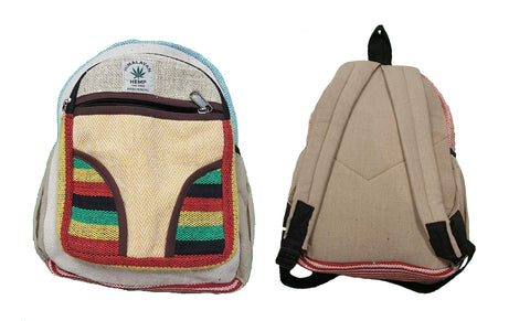 Hemp-Cotton Back Pack