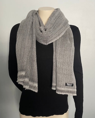 Natural Plain Pure Cashmere Pashmina Scarf Shawl Wrap Super Soft Warm Unisex Hand-loomed in Nepal
