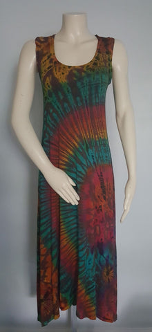 Women Tie Dye Maxi Dress