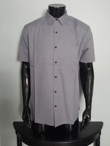 Linen and Cotton Half Sleeve Shirt for Men