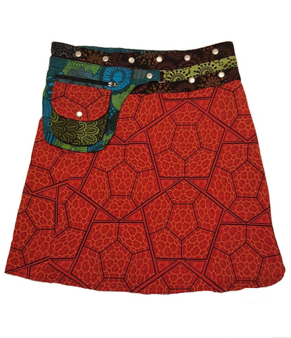 Cotton Reversible skirt
