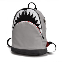 Load image into Gallery viewer, BABY SHARK BACKPACK | GREY