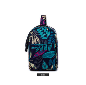 TROPICAL NEON COSMETIC BAG | PRINT