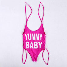 Load image into Gallery viewer, YUMMY MUMMY ONE PIECE | PINK
