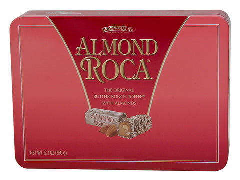 12.3 oz ALMOND ROCA Rectangular Tin