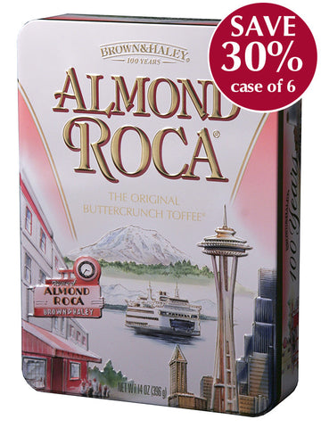 14 oz ALMOND ROCA Keepsake Tin - Case of 6 Tins