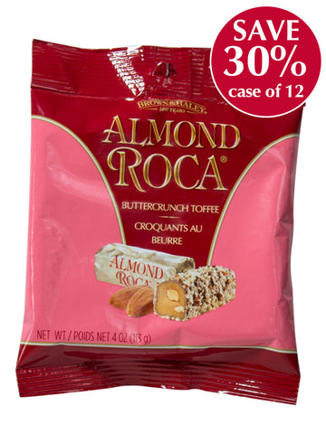 4 oz ALMOND ROCA Hang Bag - Case of 12 Bags