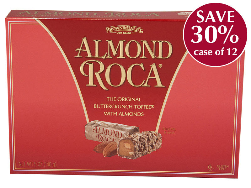 5 oz ALMOND ROCA Box - Case of 12 Boxes