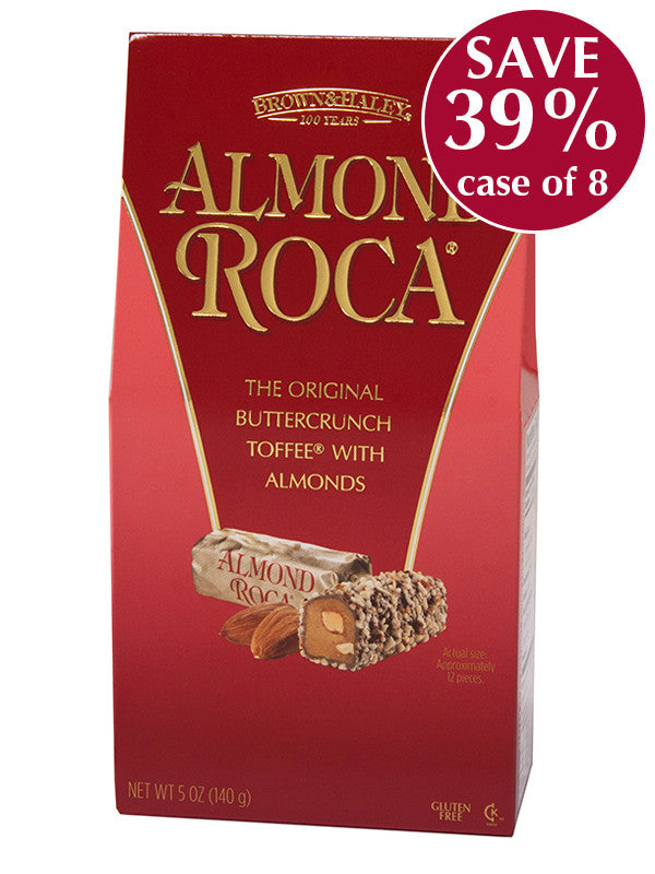 5 oz ALMOND ROCA Stand-up Box - Case of 8 boxes