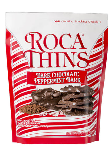 5.3 oz Dark Chocolate Peppermint ROCA THINS