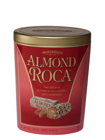 8 oz ALMOND ROCA Oval Tin