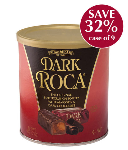 10 oz DARK ROCA Canister - Case of 9 Canisters