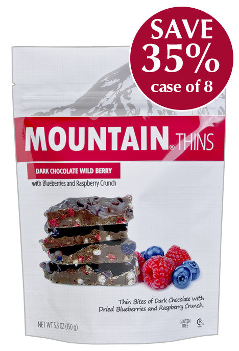 5.3 oz Wild Berry MOUNTAIN THINS - Case of 8 Pouches