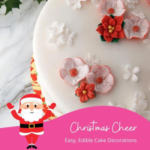 Easy, Edible Christmas Cake Decorations for the Most Beautiful Festive Bakes