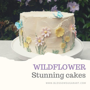 How to Make Stunning Wildflower Cakes and Bakes for Weddings and Birthdays