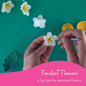 3 Tips for Easy Fondant Flowers