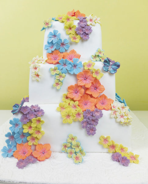 All the flowers on this cake were made using the Petunia Multi Set