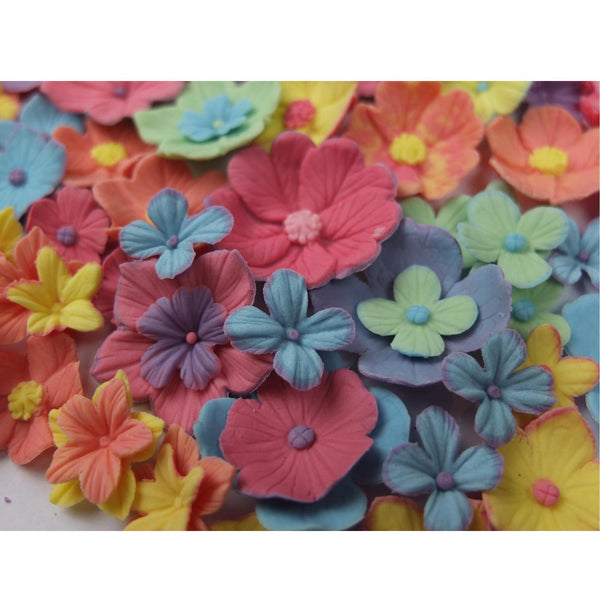 Mix n' Match Bouqet Fondant Flowers Cutter and Mould Multi Set - Blossom Sugar Art cake_decorating_mold craft_mold icing_flowers