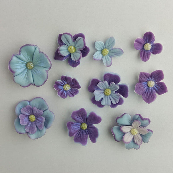 Blossom Multi Set - Blossom Sugar Art cake_decorating_mold craft_mold icing_flowers