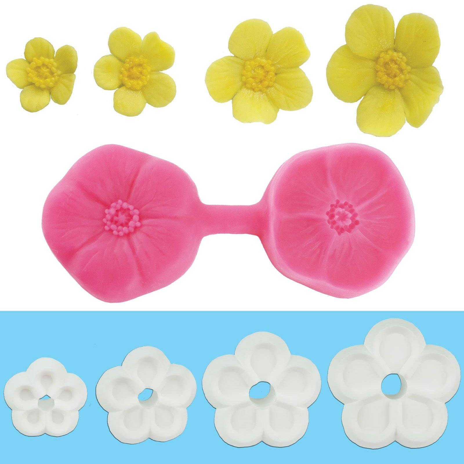 Buttercup Collection - Blossom Sugar Art cake_decorating_mold craft_mold icing_flowers