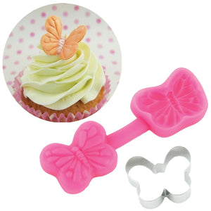 Butterfly Cutter & Mould Set - Blossom Sugar Art cake_decorating_mold craft_mold icing_flowers