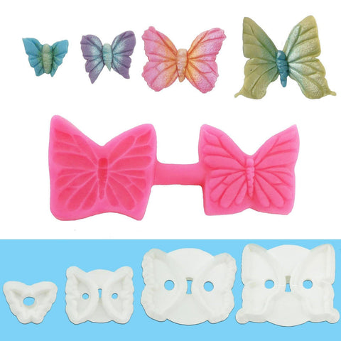 Butterfly Collection - Blossom Sugar Art cake_decorating_mold craft_mold icing_flowers