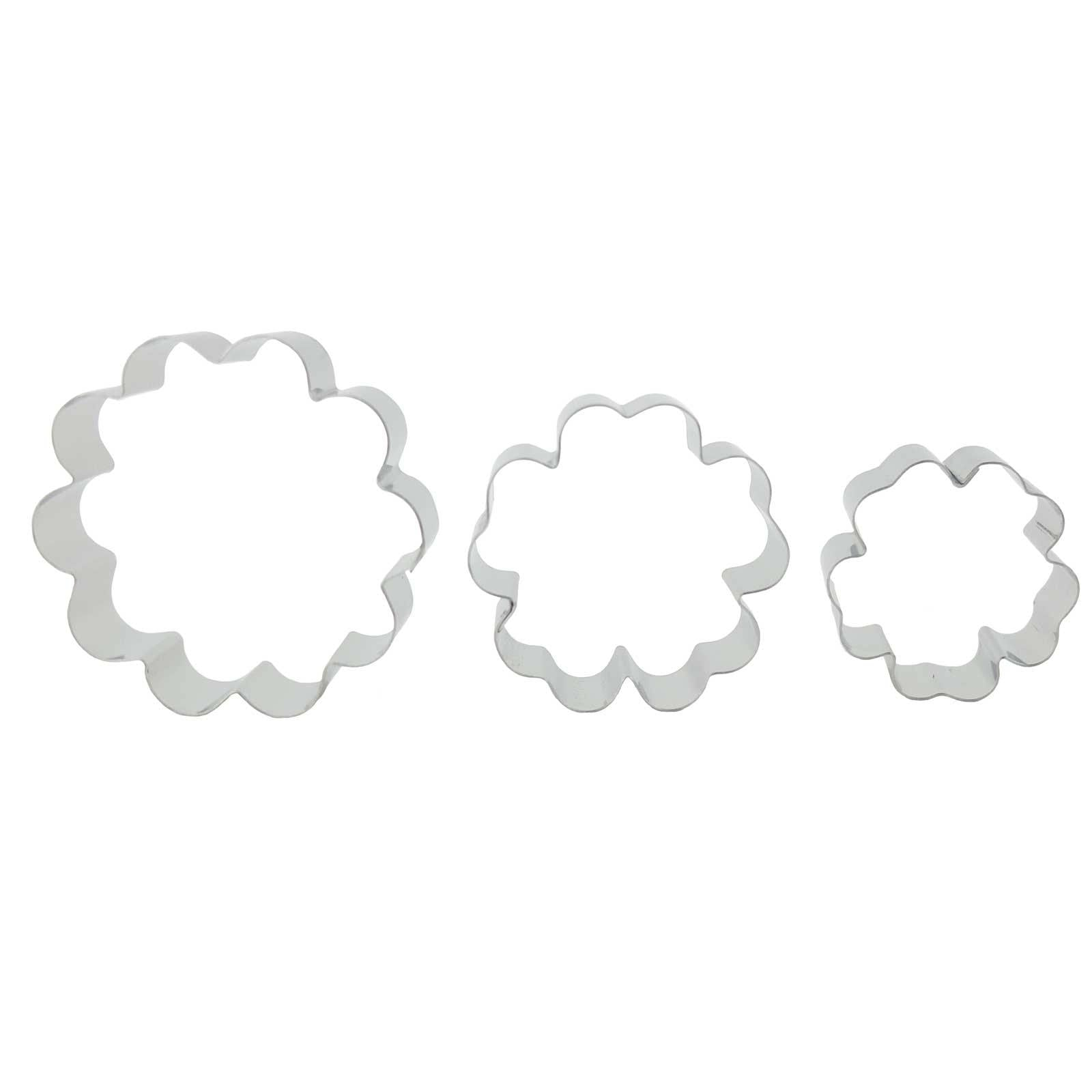 Set of Fleur Cutters - Blossom Sugar Art cake_decorating_mold craft_mold icing_flowers