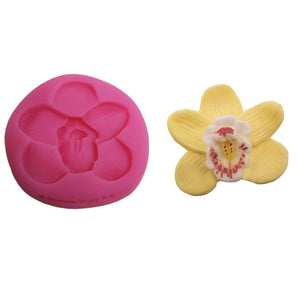 Orchid Mould - Blossom Sugar Art cake_decorating_mold craft_mold icing_flowers