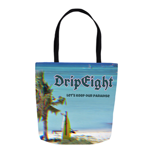 DRIPEIGHT RESUSABLE TOTE BAG