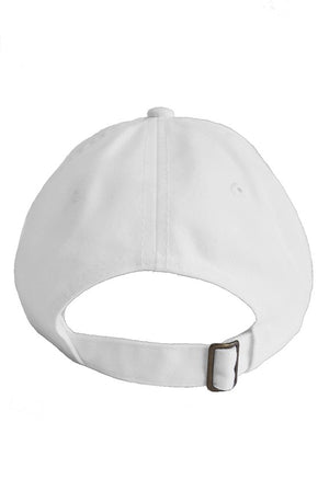 SNAKE 8 DAD HAT WHITE - dripeight